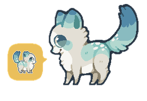 [ SOLD  ] fluffypuppy + icon! by Sergle