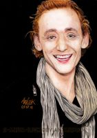 Tom Hiddleston by Red-Szajn