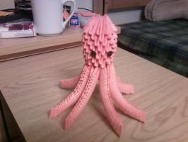 3D Origami Octopus by SeemsGood