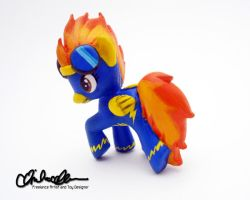 Blind Bag Wonderbolt Spitfire Custom MLP by thatg33kgirl
