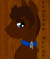 Leonard McCoy Pony by That-One-Outcast