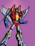 Animated style Starscream by Charger426