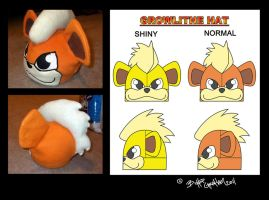 Growlithe Hat by tentenswift