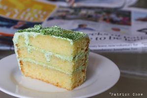 Matcha cake by patchow