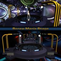MMD Screw Mania Stage by Trackdancer