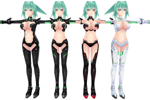 Hyperdimension Neptunia V, Green Heart by xXNekochanofDoomXx