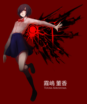 Touka Bes Girl by HamCrumbs