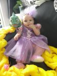 My baby princess Rapunzel - Disney's Tangled by yunekris