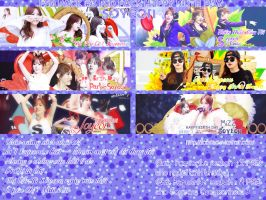 PSD Pack #3 : Happy Birth Day Soyeon by jica2k1