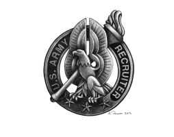 Recruiter Badge by aaronprovost
