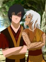 Zuko and Xia by bex2524