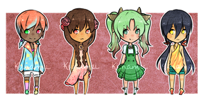 Pigtail Adopts 1/4 [OPEN] by Kunamei