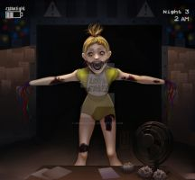 Chica five nights at freddy's by USGDead-Girl
