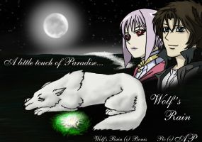Wolfs Rain-Touch of Paradise by WolfsParadise