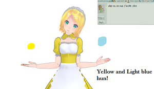 Answer Two ~Colors~ by Ask-mmd-Maid-Rin