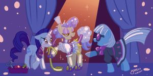 Fashion Ponies by Yamino
