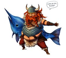 Fat Viking Gragas by irahi