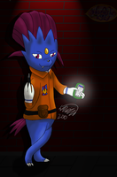 Razor the Sub-Weavile by Threehorn