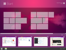 Modern UI [in construction] New Concept Windows 9 by danielskrzypon