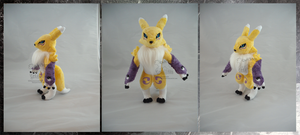 Renamon SOLD by darkpheonixchild