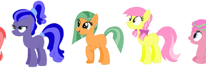 Cheap Batch Of Mare Adoptables by Fillylicious