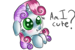 Am i cute? by Momoe-mi