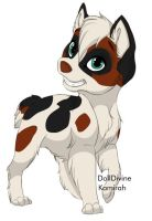 Cal (Rping dog) by kovu-and-kiara-love