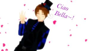 Ciao Bella~! by xbloodrosedragon