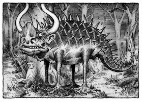 The Hodag by Loneanimator