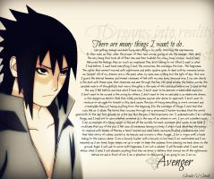 The Sasuke Uchiha essay- Outlook of an Avenger by LightsChips