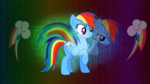 Rainbow Dash Wallpaper by CKittyKat98