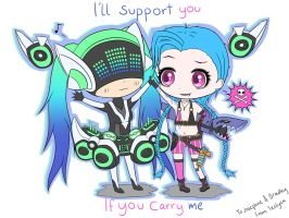 I'll support you if you carry me 2 by Izelyca