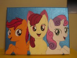 My Little Pony - The Cutie Mark Crusaders -EBAY- by fluffylovey