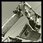 Backhoe by VictoriaHyde