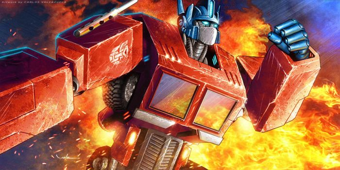 Optimus Prime by Valzonline