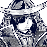 Date Masamune by Hemuvel