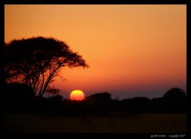 Africa Ablaze by GeraldWinslow