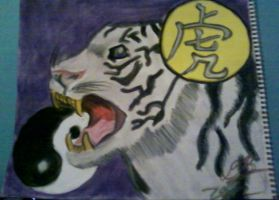 The Tiger - Chinese Zodiac by Konack1