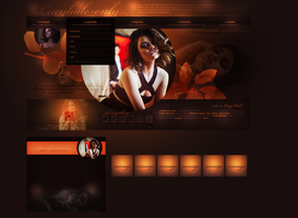 Layout ft. Lucy Hale 002 by PixxLussy