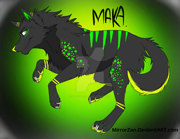 Maka - Adoptable ~ SOLD [CLOSED] by DerpyNoodle