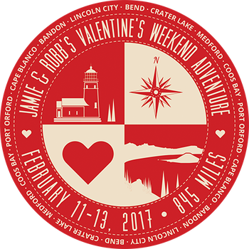 Valentine Trip Badge: Red by 66Robert