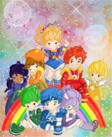 Rainbow Brite and Color kids by kawaii-doremi-chan