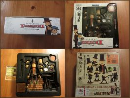 Professor Layton Revoltech Figure by BenjaminHunter