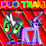 Duo Team-Shadow and Twilight Sparkles by zigaudrey