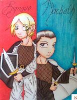 Macbeth and Banquo by Snappedragon