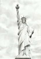 Statue of Liberty by Kamil93207