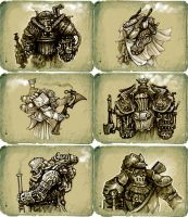 paropank_armors_graphics by Slimdimanus