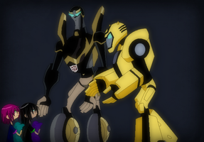 Cat and Lilly Don't Want to go to Sleep by TFAfangirl14