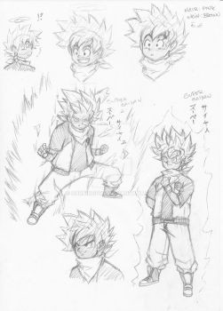 DBZ Character sheet by burNiNgFro
