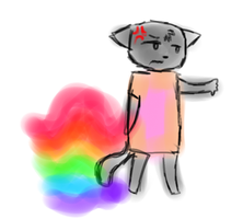 Nyan cat DISAPPROVES by Shadestepwarrior
